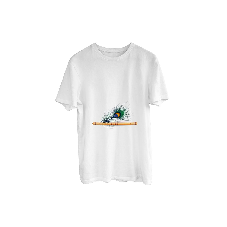 Classic Murli Illustration Print T-Shirt