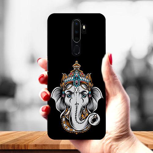 Ganesha Dark Mobile Phone Cover for Oppo A9