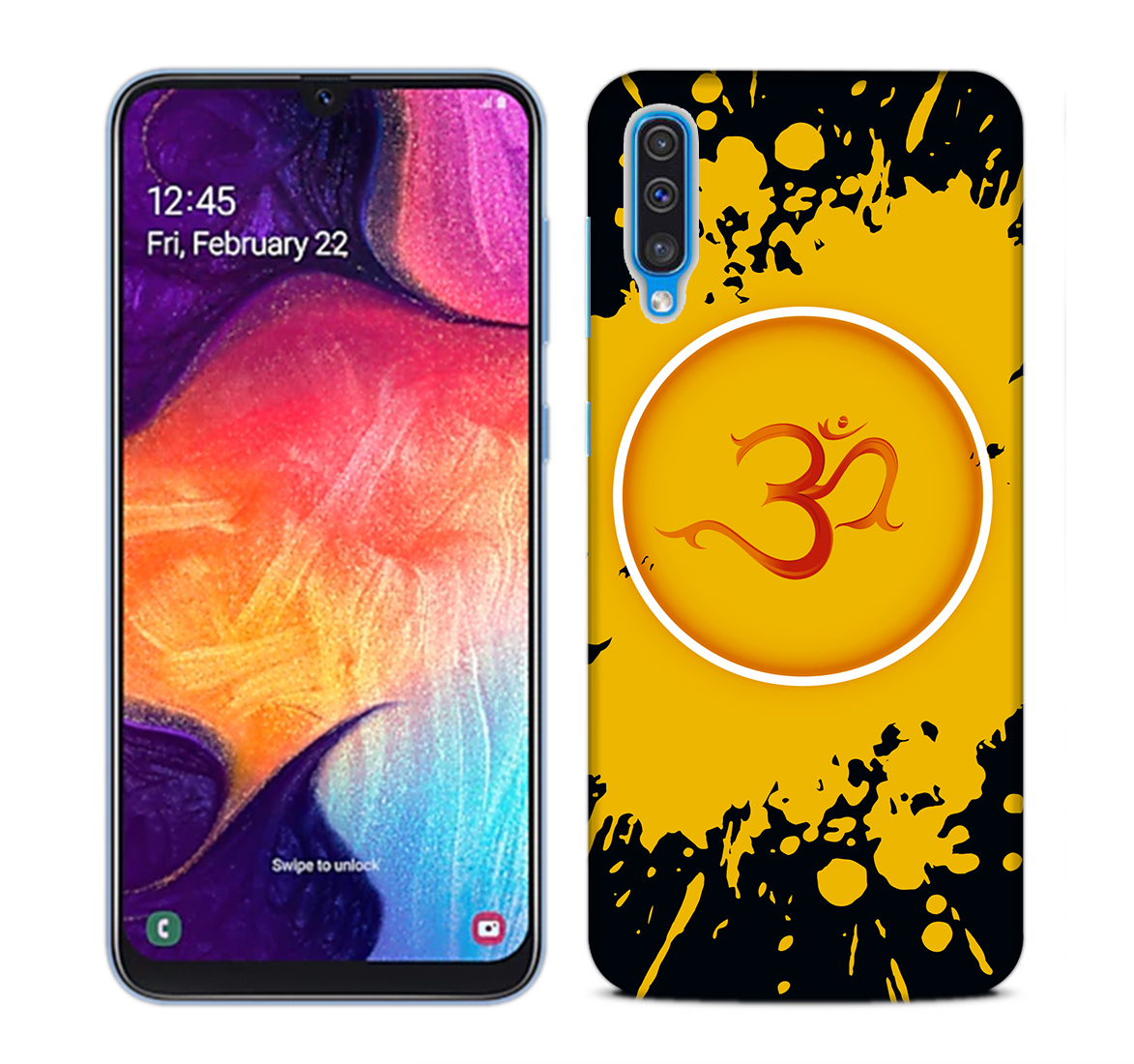 Om Dark Mobile Phone Back Cover for Samsung Galaxy A50