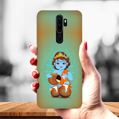 Krishna Makhanchor Mobile Phone Cover for Oppo A9