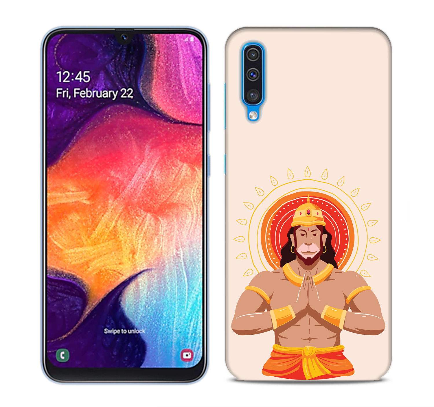 Jai Hanuman Mobile Phone Back Cover for Samsung Galaxy A50