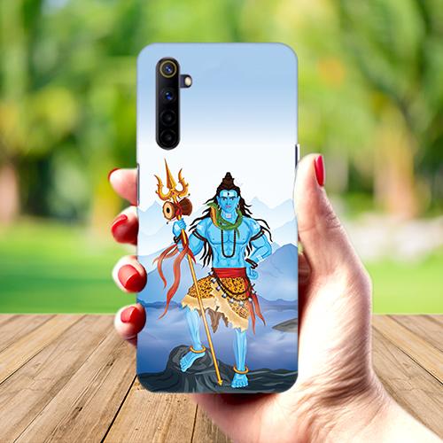 Shiv Kailash Mobile Phone Back Cover for Realme 6