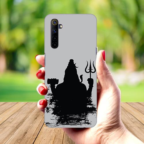 Mahadev Black Shadow Mobile Phone Back Cover for Realme 6
