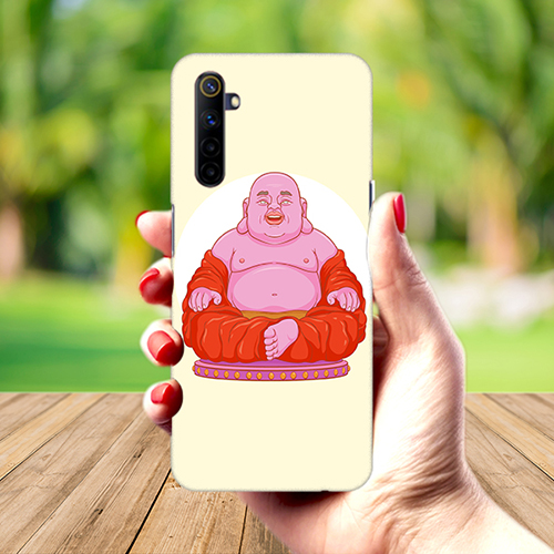 Laughing Buddha Mobile Phone Back Cover for Realme 6