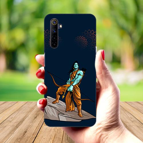 Dhanurdhari Ram Mobile Phone Back Cover for Realme 6
