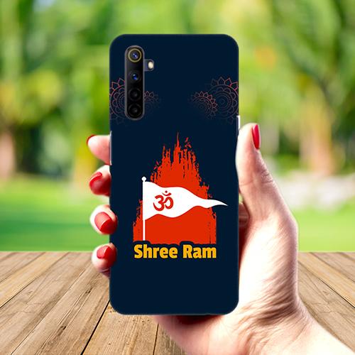 Shiv Ram Dhvaj Mobile Phone Back Cover for Realme 6