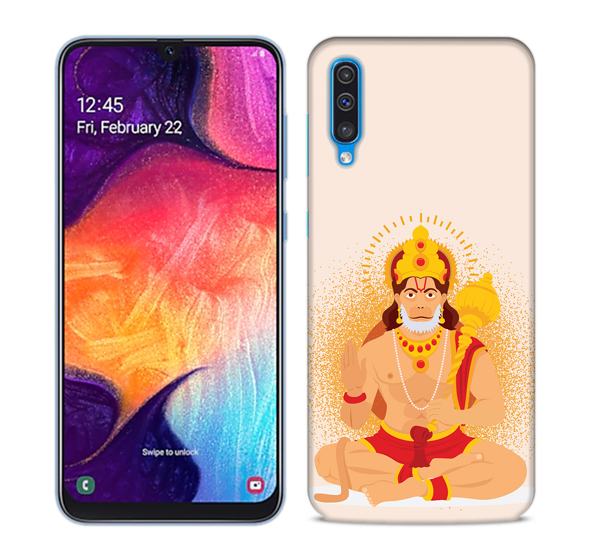Bhakt Hanuman Mobile Phone Back Cover for Samsung Galaxy A50
