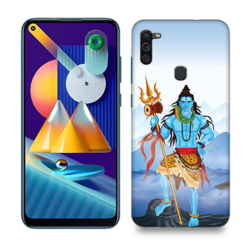 Shiv Kailash Mobile Phone Back Cover for Samsung Galaxy M11