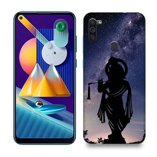 Murlidhar Mobile Phone Back Cover for Samsung Galaxy M11