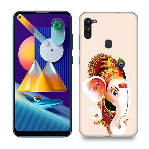 Ganesha Mobile Phone Back Cover for Samsung Galaxy M11