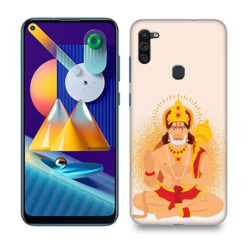 Bhakt Hanuman Mobile Phone Back Cover for Samsung Galaxy M11