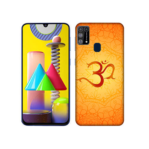 Om Dark Mobile Phone Back Cover for Samsung Galaxy M31