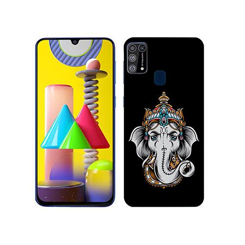 Ganesha Dark Mobile Phone Back Cover for Samsung Galaxy M31