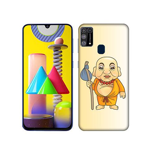 Walking Budhha Mobile Phone Back Cover for Samsung Galaxy M31