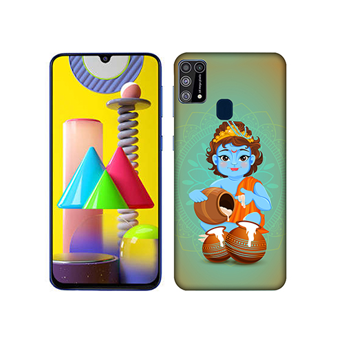 Kisna Makhanchor Mobile Phone Back Cover for Samsung Galaxy M31