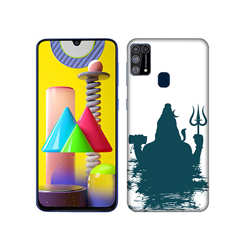 Shiva Blue Shadow Mobile Phone Back Cover for Samsung Galaxy M31