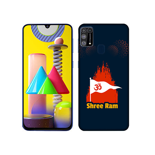 Shri Ram Dhvaj Mobile Phone Back Cover for Samsung Galaxy M31