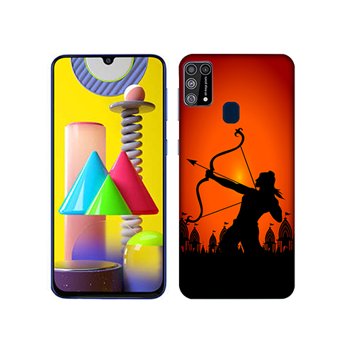 Dhanurdhari Ram Mobile Phone Back Cover for Samsung Galaxy M31