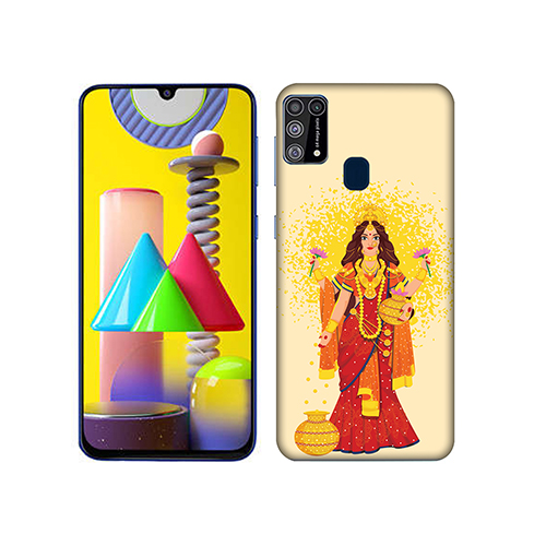 Maa Laxmi Mobile Phone Back Cover for Samsung Galaxy M31