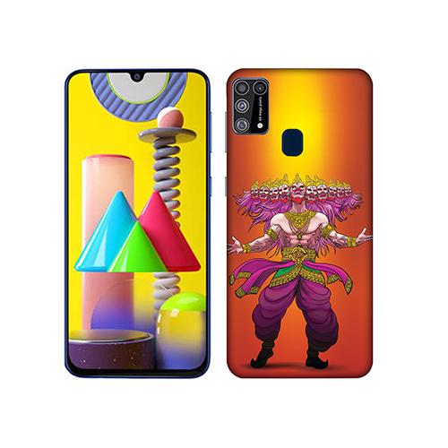Furious Dashanan Mobile Phone Back Cover for Samsung Galaxy M31