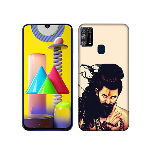 Bearded Mahadev Mobile Phone Back Cover for Samsung Galaxy M31