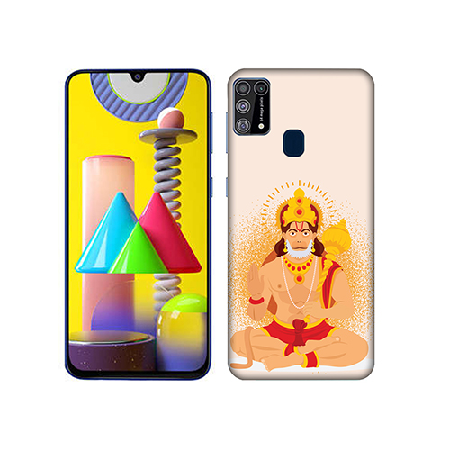 Bhakt Hanuman Mobile Phone Back Cover for Samsung Galaxy M31