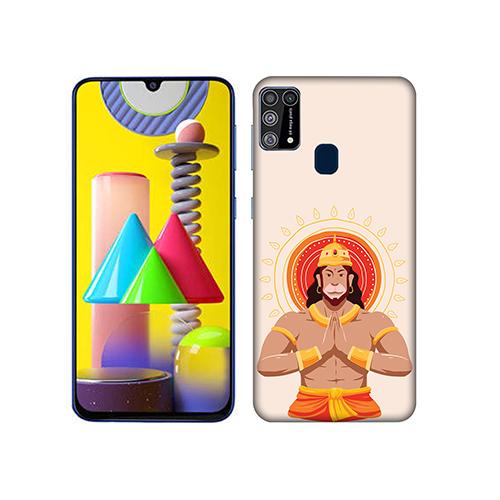 Jai Hanuman Mobile Phone Back Cover for Samsung Galaxy M31