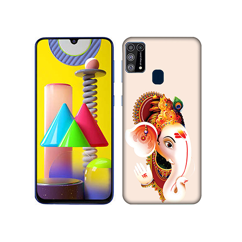Ganesha Mobile Phone Back Cover for Samsung Galaxy M31