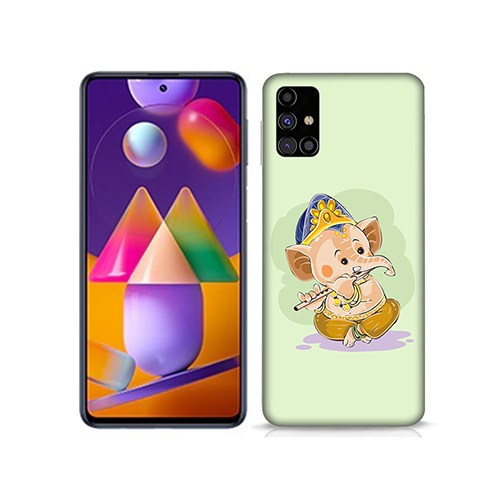 Nanhe Ganesha Mobile Phone Back Cover for Samsung Galaxy M31s