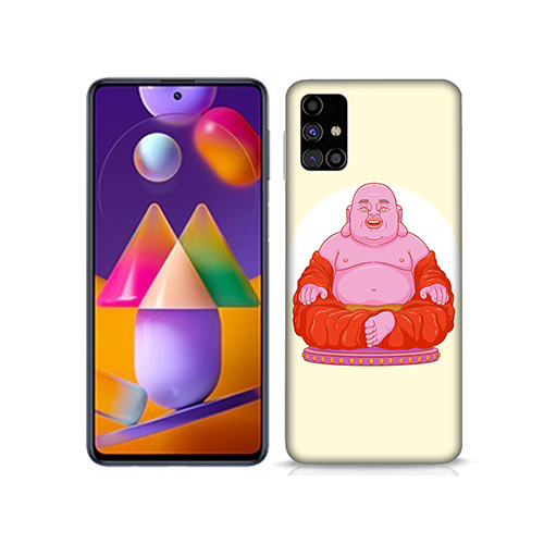 Laughing Budhha Mobile Phone Back Cover for Samsung Galaxy M31s