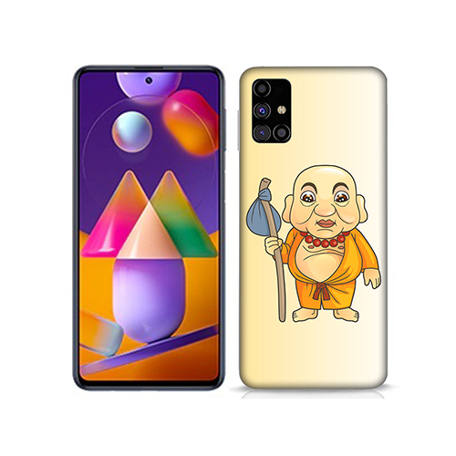 Walking Budhha Mobile Phone Back Cover for Samsung Galaxy M31s