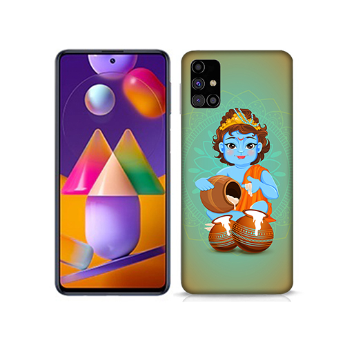 Kisna Makhanchor Mobile Phone Back Cover for Samsung Galaxy M31s