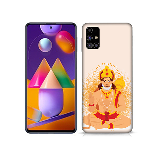 Bhakt Hanuman Mobile Phone Back Cover for Samsung Galaxy M31s