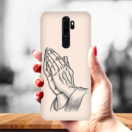 Prayer Sketch Mobile Phone Cover for Oppo A9