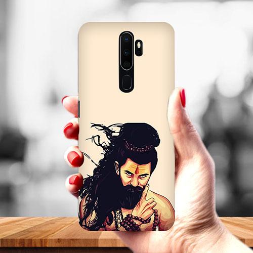 Bearded Mahadev Mobile Phone Cover for Oppo A9