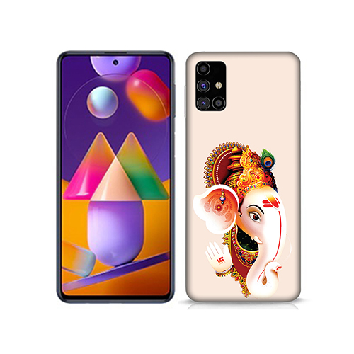 Ganesha Mobile Phone Back Cover for Samsung Galaxy M31s
