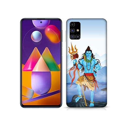 Shiv Kailash Mobile Phone Back Cover for Samsung Galaxy M31s