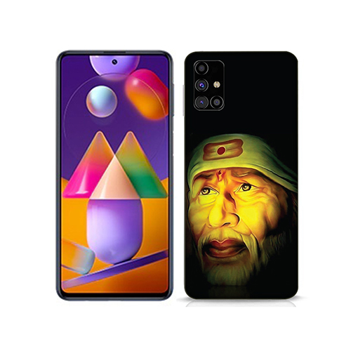 Sai Baba Mobile Phone Back Cover for Samsung Galaxy M31s