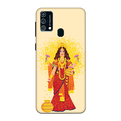 Maa Laxmi Mobile Phone Back Cover for Samsung Galaxy F41