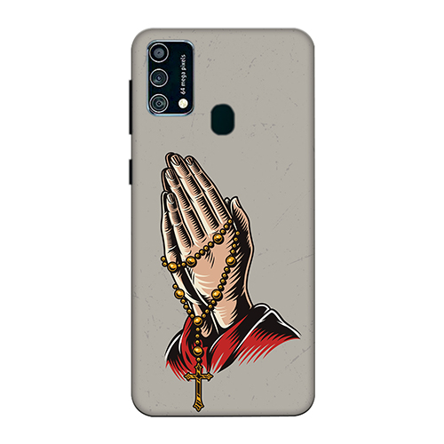 Cross Prayer Mobile Phone Back Cover for Samsung Galaxy F41