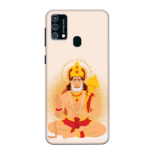 Bhakt Hanuman Mobile Phone Back Cover for Samsung Galaxy F41