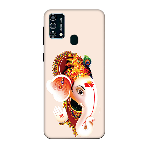 Ganesha Mobile Phone Back Cover for Samsung Galaxy F41