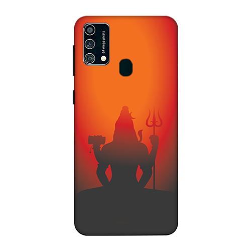 Mahadev Shadow in Sunset Mobile Phone Back Cover for Samsung Galaxy F41
