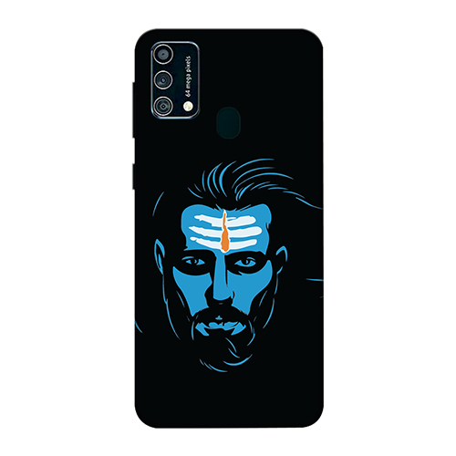 Mahadev Blue Mobile Phone Back Cover for Samsung Galaxy F41