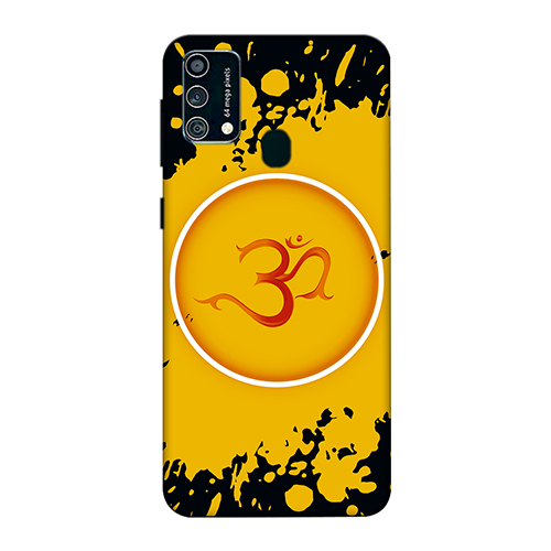 Om Splash Mobile Phone Back Cover for Samsung Galaxy F41