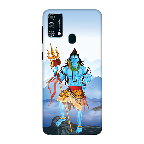 Shiv Kailash Mobile Phone Back Cover for Samsung Galaxy F41