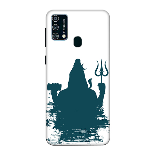 Shiva Blue Shadow Mobile Phone Back Cover for Samsung Galaxy F41