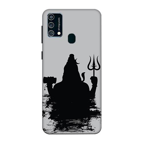 Mahadev Black Shadow Mobile Phone Back Cover for Samsung Galaxy F41