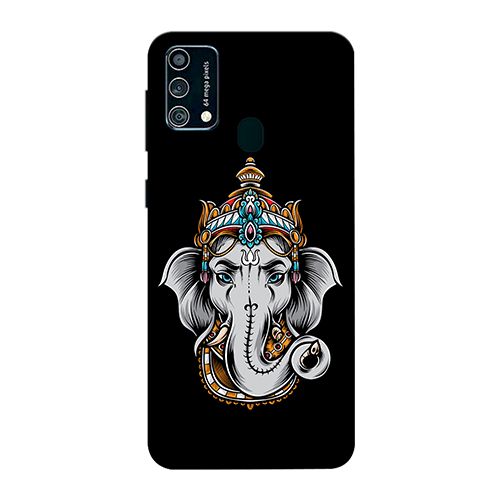 Ganesha Dark Mobile Phone Back Cover for Samsung Galaxy F41