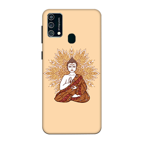 Meditating Budhha Mobile Phone Back Cover for Samsung Galaxy F41